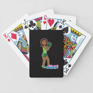 Girls Can't WHAT? ColorizeME Custom Design Bicycle Card Decks