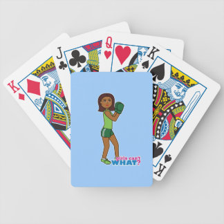 Girls Can't WHAT? ColorizeME Custom Design Poker Cards