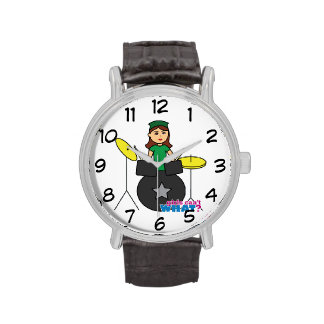 Girls Can't WHAT? ColorizeME Custom Design Wristwatches