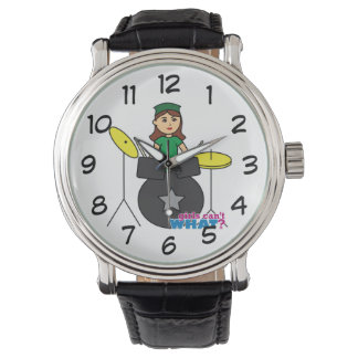 Girls Can't WHAT? ColorizeME Custom Design Wristwatch