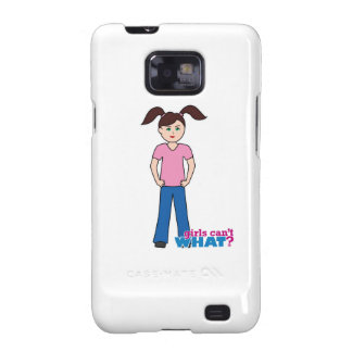 Girls Can't WHAT? Girl Samsung Galaxy S2 Cover
