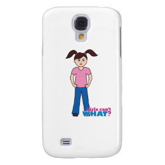 Girls Can't WHAT? Girl Samsung Galaxy S4 Case