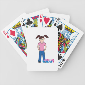 Girls Can't WHAT? Girl Card Deck