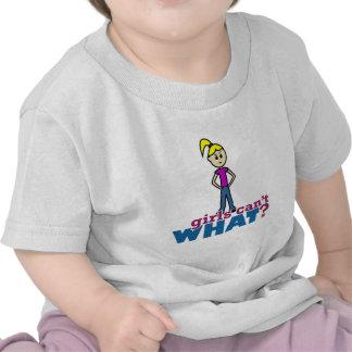Girls Can't WHAT? Girl Tee Shirt