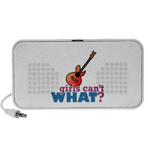Girls Can't WHAT? Guitar PC Speakers