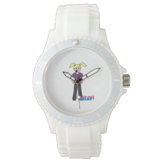 Girls Can't What - Light/Blonde Wristwatch