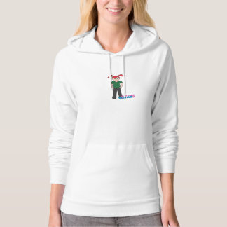 Girls Can't What - Light/Red Hoodie