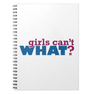 Girls Can't WHAT? Logo Journal