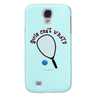 Girls Can't WHAT? Raquetball Galaxy S4 Cases