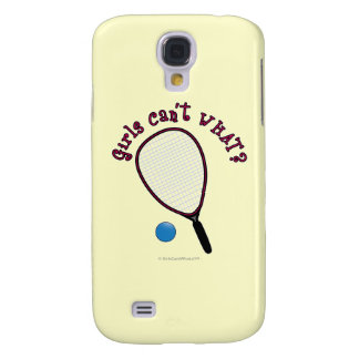 Girls Can't WHAT? Raquetball Galaxy S4 Cover