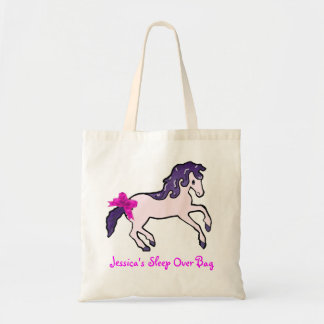 Girl's canvas tote bag