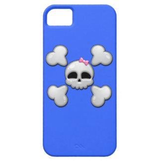 Girls Cartoon Skull iPhone SE/5/5s Case