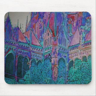 Girl's Castle by Renee Pruitt Mouse Pad