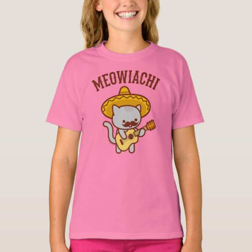 Girls Cat T_Shirt _ MEOWIACHI