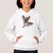 Girls Chihuahua Hoodie Sweater