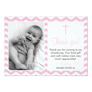 Christening Thank You Cards | Zazzle