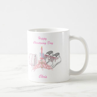 Girls Christening Wish Coffee Mug