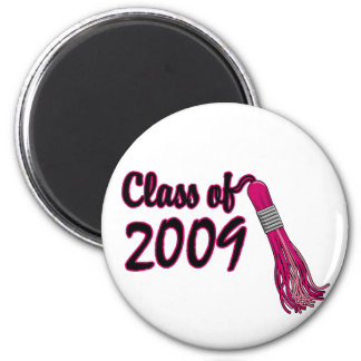 Girl's Class of 2009 Gifts 2 Inch Round Magnet