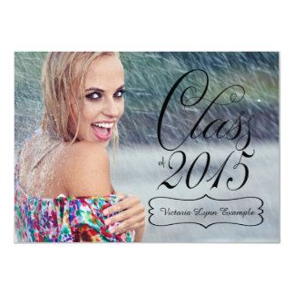 Girls Class of 2015 Graduation Card