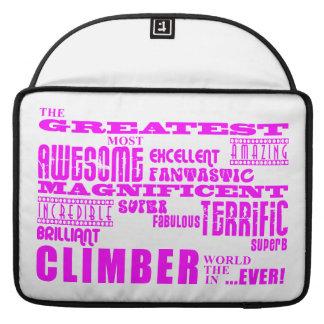 Girls Climbers Pink Greatest Climber Sleeve For MacBooks