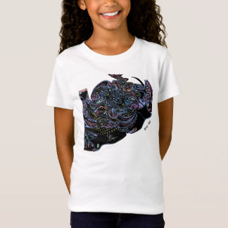 Girls Colored Spider Web Shirt