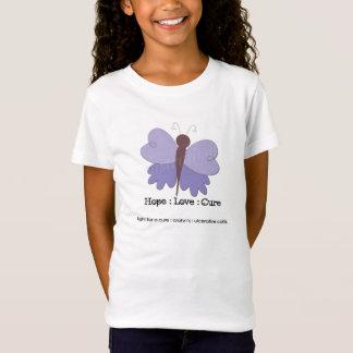 Girls' Crohn's Hope : Love : Cure Butterfly Tee