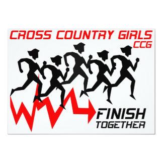 Girls Cross Country Invitation