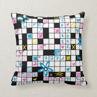 Decorative Pillow Cover Crossword Clue : Riddles Pillows - Decorative & Throw Pillows Zazzle