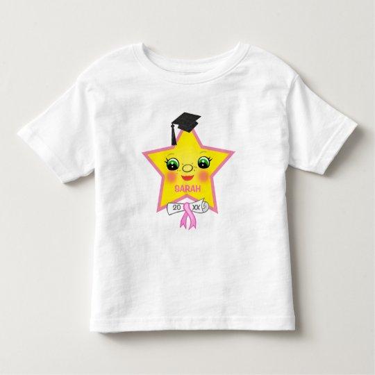 Girl's Custom Graduation Star T-Shirt
