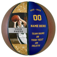 Girls Custom Printed Basketballs Your Photo, Text