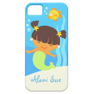 Girl's Cute Mermaid iPhone 5 Case