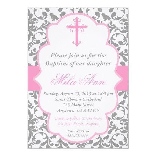 Dedication Invitations with great invitations layout
