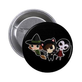 girls_dark pinback button