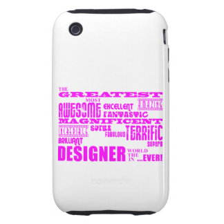 Girls Designers Birthdays : Pink Greatest Designer iPhone 3 Tough Cover