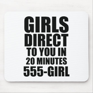 Girls Direct Mouse Pad