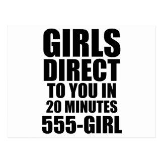 Girls Direct Postcard