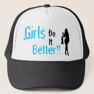 Girls do it better trucker hat