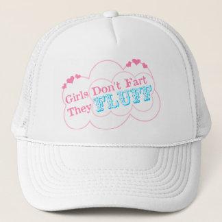 Girls Don't Fart They Fluff Trucker Hat