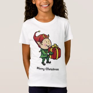 Girl's Ernie the Elf Christmas T-Shirt