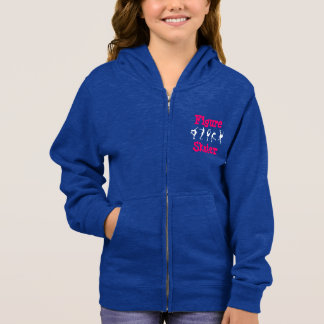 Girls Figure Skater Zipper Jacket