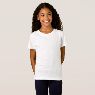 Beach Themed Girls' Fine Jersey T-Shirt