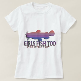 GIRLS FISH TOO CATFISH T-Shirt