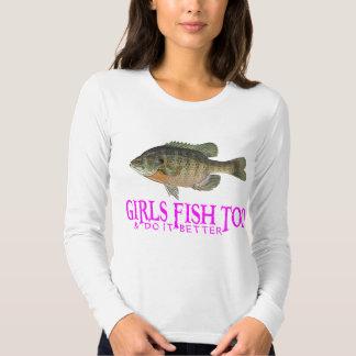 GIRLS FISH TOO SHIRTS