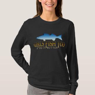 GIRLS FISH TOO WALLEYE T-Shirt