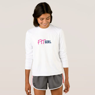 """Girl's """"FITGIRL"""" Competitor Long Sleeved Shirt"""