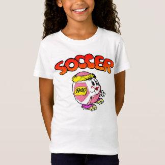 Girls' Fitted Bella Babydoll Shirt, White T-Shirt