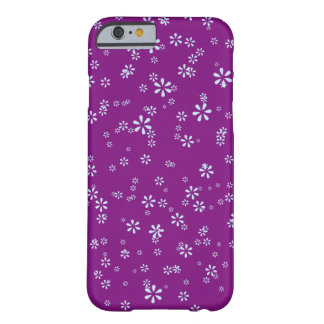 Girls floral flower purple barely there iPhone 6 case