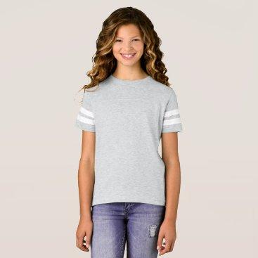 Beach Themed Girls' Football Shirt