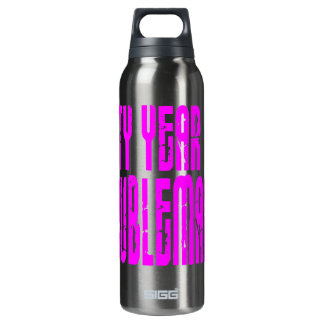 Girls Funny Birthdays Sixty Year Old Troublemaker 16 Oz Insulated SIGG Thermos Water Bottle