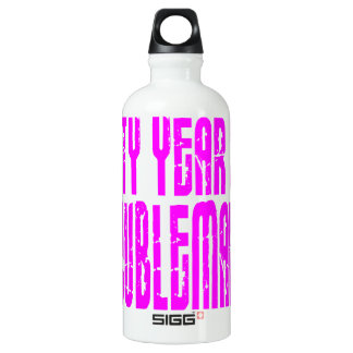 Girls Funny Birthdays Sixty Year Old Troublemaker SIGG Traveler 0.6L Water Bottle